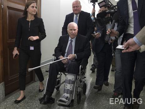 УСША госпіталізували Джона Маккейна