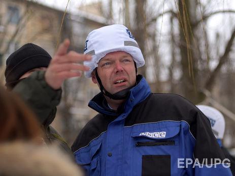 ОБСЕ сказала обобострении ситуации взоне конфликта вДонбассе