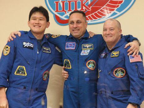 Сегодня на МКС отправится американо-российско-японский космический экипаж  ГОРДОН