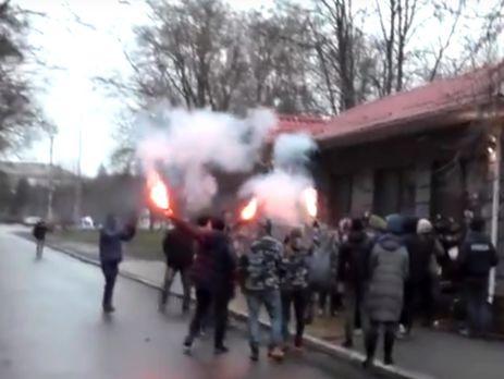 УКременчуці поліцейські побилися зНацкорпусом