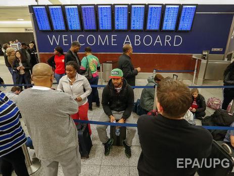 Більше тисячі рейсів скасовані вАтланті через відключення електроенергії