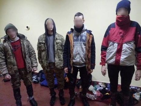ВЧернобыльской зоне задержали сталкеров