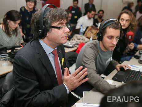 Пучдемон прокоментував вибори вКаталонії