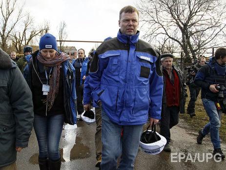 НаДонбасс прибыли несколько колонн фургонов с«гуманитаркойРФ»— ОБСЕ