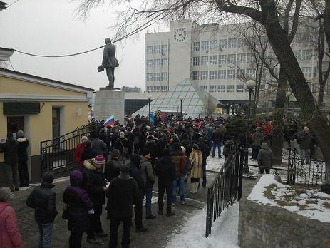 Навального выдвинут кандидатом впрезиденты