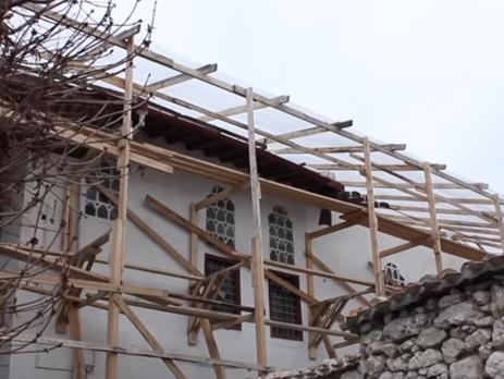 Картинки по запросу реконструкция ханского дворца