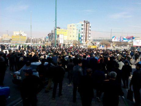 ВИране продолжаются аресты участников акций протеста против поднятия цен напродукты