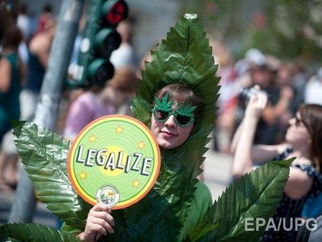 УКаліфорнії легалізували марихуану
