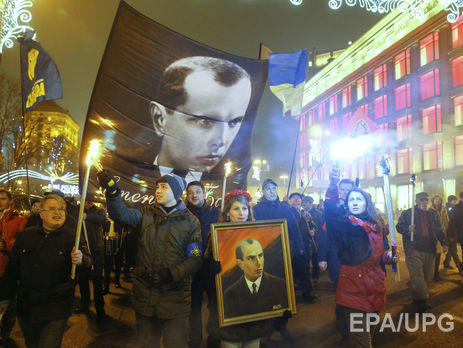 Нацполиция: Акции вчесть Степана Бандеры вУкраинском государстве прошли без инцидентов