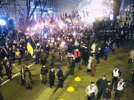 МВД: Конфликтов в57 маршах вчесть Бандеры поУкраине незафиксировано