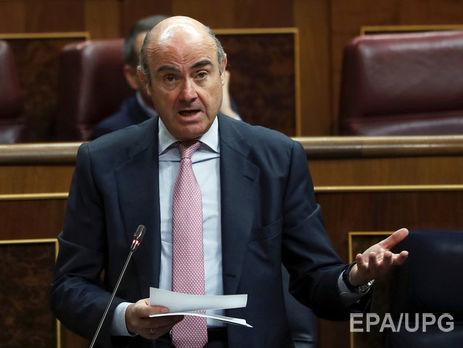 Политический кризис обошелся Каталонии в €1 млрд— министр экономики Испании