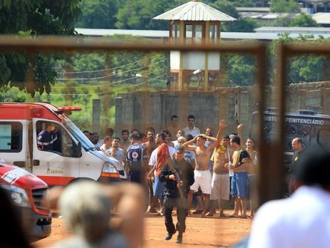 УБразилії стався тюремний бунт, дев'ятеро ув'язнених загинуло, 14 поранено