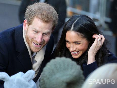 Королівське весілля буде відбудеться 19 травня