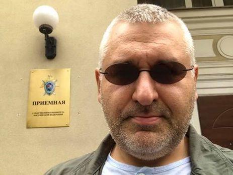 Фейгин о Сущенко: Относительно того, как он себя чувствует, то никаких проблем у него нет