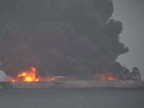 Серьезное происшествие увосточного побережья Китая