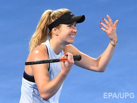Свитолина выиграла турнир вБрисбене