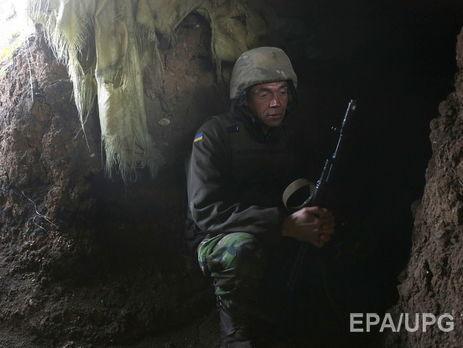 Збройні Сили України вперше зпочатку «перемир'я» відкрили вогонь