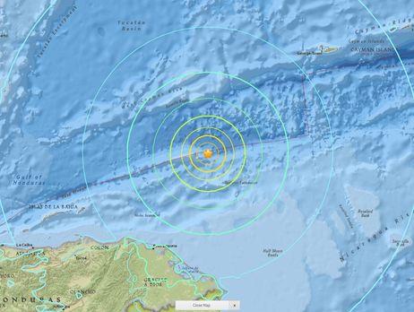 Біля узбережжя Гондурасу стався потужний землетрус, є загроза цунамі