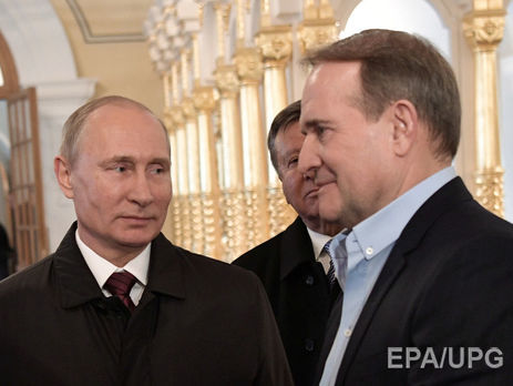 Кремль подтвердил данные СМИ опрошедшей встрече В.Путина сМедведчуком