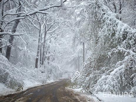 ВУкраїну йдуть 25-градусні морози тасильні снігопади