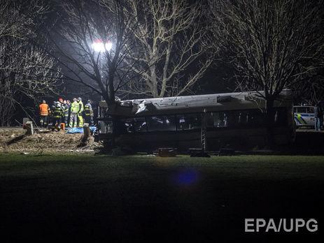 В Праге пассажирский автобус попал в ДТП: трое погибших и 45 раненых