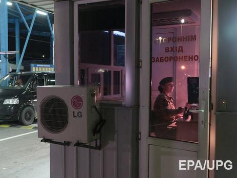 Украина непустила встрану полторы тысячи иностранцев из-за визита вКрым