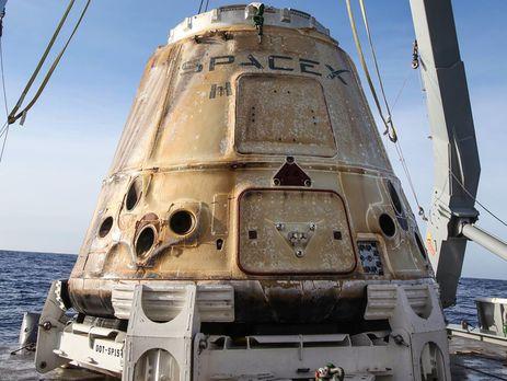 Космічний корабель Dragon повернувся на Землю з МКС – SpaceX