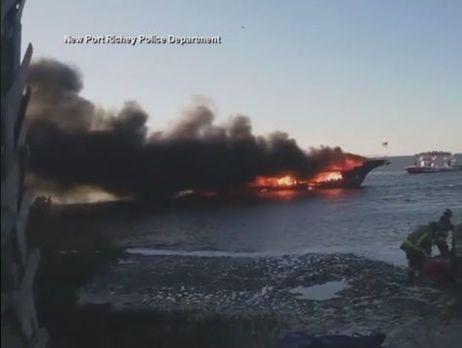ВСША впожаре наплавучем казино погибла женщина