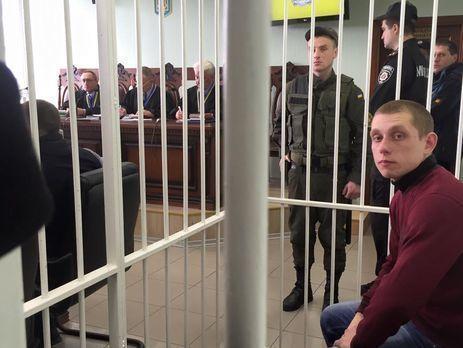 Расстрелянное БМВ: Суд продлил меру пресечения полицейскому Олейнику