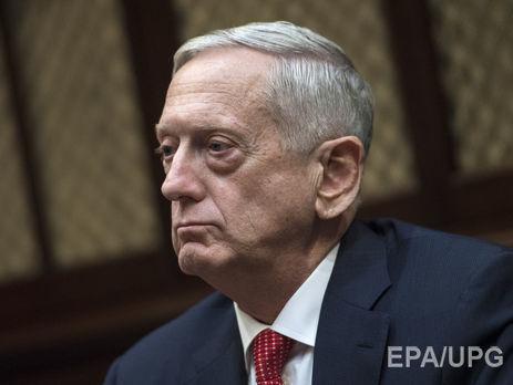 Меттіс заявив, що Росія бере на озброєння військові стратегії та засоби, які покладаються на ядерну ескалацію