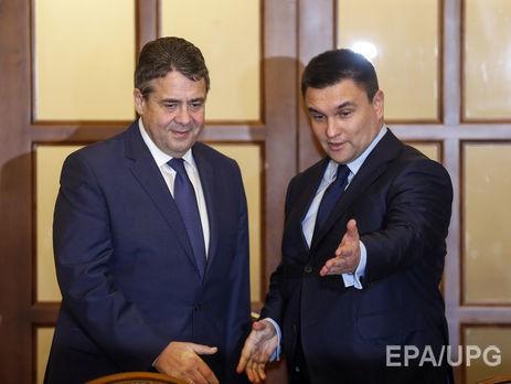 Клімкін і Габріель обговорять санкційну політику щодо Росії 03384ed9c911f