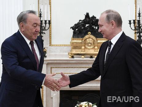 Путін обговорив із Назарбаєвим ситуацію вУкраїні