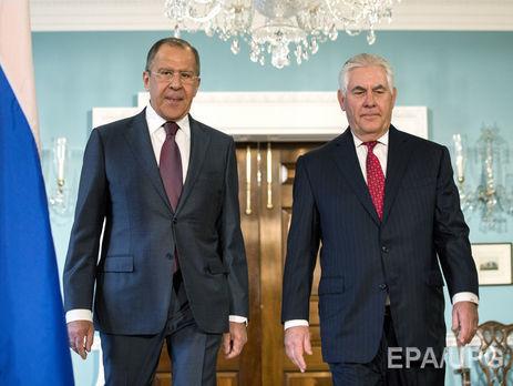 Тіллерсон— Лаврову: Росія повинна прискорити вихід зДонбасу