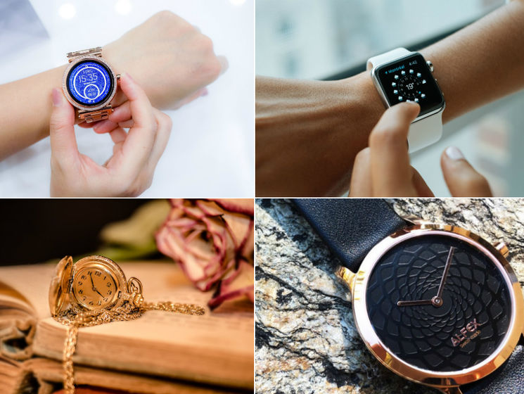 Чоловічі і жіночі наручні годинники  модні тренди 2018 року   ГОРДОН b74105ef3edf2