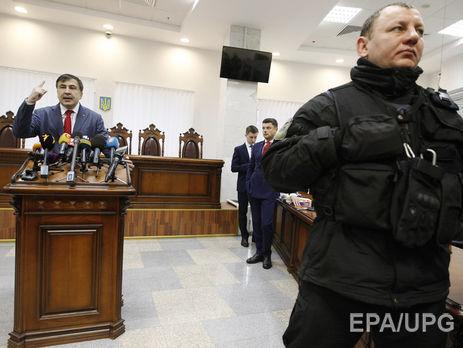Саакашвили сказал, зачем залезал накрышу дома