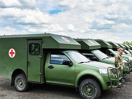 Украина купила упартнера Порошенко бракованные санитарные автомобили