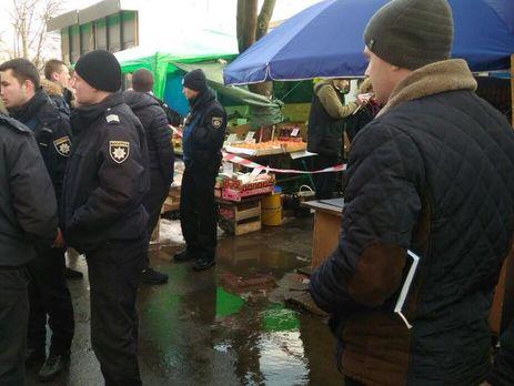 Конфликт произошел днем 29 января в Шевченковском районе Киева