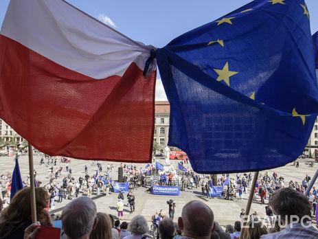 Комитет Европарламент дал добро насанкции против Польши