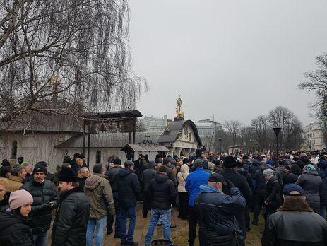Для 2-х киевлян, которые подожгли монастырь УПЦ МП, попросят смягчения меры пресечения