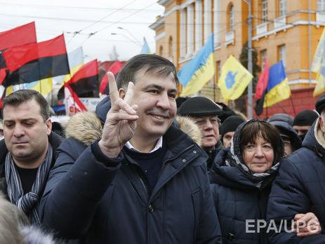 Суд вКиеве подтвердил отказ впредоставлении Саакашвили статуса беженца