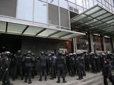 Сегодня Нацагентство по выявлению активов с помощью полиции и военной прокуратуры взяло под управление помещения где расположена редакц