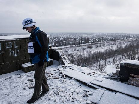 Миссия ОБСЕ не смогла получить информацию об обстреле украинских военных с территории РФ