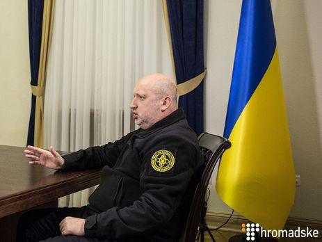 Закон про реінтеграцію невиключає військового сценарію наДонбасі - Турчинов