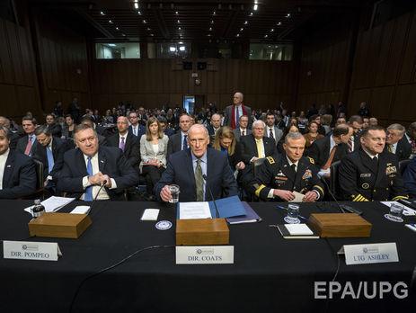 Коутс представил свой доклад комитету по разведке Сената США