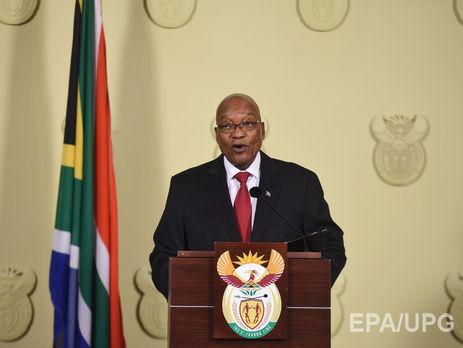 Правляча партія ПАР дала президенту 48 годин, щоб залишити свою посаду