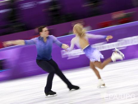 Выступающая за ФРГ украинка Савченко завоевала олимпийское золото в парном фигурном катании. Видео