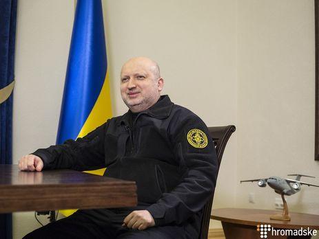 Турчинов про Януковича: Він нікому не цікавий як політичний лідер чи політичний діяч