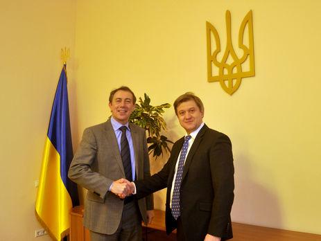 Данилюк обсудил реформы в Украине с вице-президентом Всемирного банка Муллером