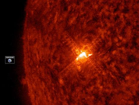NASA зафіксувало рідкісний спалах насонці
