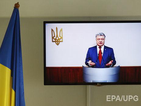 Порошенко відреагував наобшуки журналісток вОболонському суді Києва